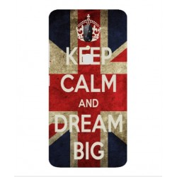Coque Keep Calm And Dream Big Pour ZTE Axon 7s