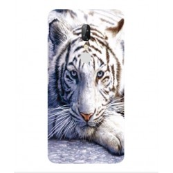 ZTE Axon 7s White Tiger Cover