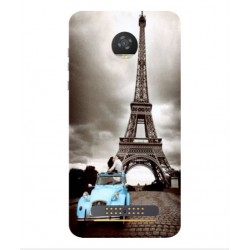 Motorola Moto Z2 Play Vintage Eiffel Tower Case