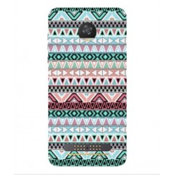 Coque Broderie Mexicaine Pour Motorola Moto Z2 Play