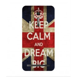Asus Zenfone Go ZB552KL Keep Calm And Dream Big Cover