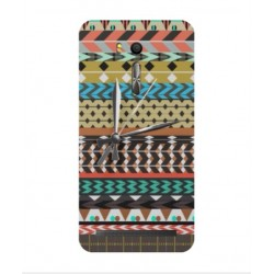Asus Zenfone Go ZB552KL Mexican Embroidery With Clock Cover