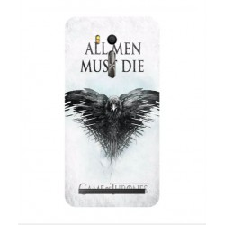 Funda All Men Must Die Para Asus Zenfone Go ZB552KL