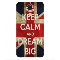 Coque Keep Calm And Dream Big Pour Huawei Enjoy 7 Plus