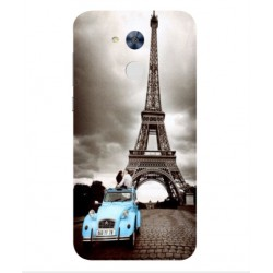Huawei Honor 6A Vintage Eiffel Tower Case