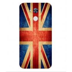 Coque Vintage UK Pour Huawei Honor 6A