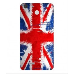 Coque UK Brush Pour Archos 55b Cobalt