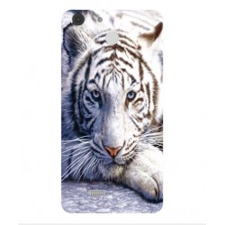 Archos 55b Cobalt White Tiger Cover
