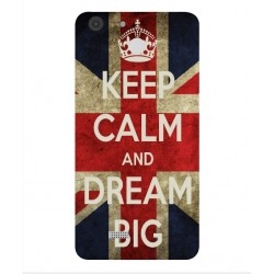 Coque Keep Calm And Dream Big Pour Archos 55b Cobalt