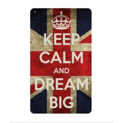 Coque Keep Calm And Dream Big Pour Huawei MediaPad T3 8.0