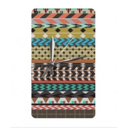 Coque Broderie Mexicaine Avec Horloge Pour Huawei MediaPad T3 8.0