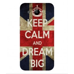 Coque Keep Calm And Dream Big Pour Huawei Y3 (2017)