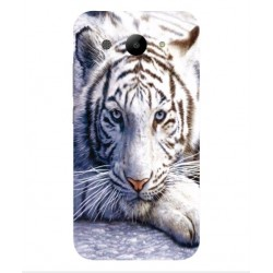 Huawei Y3 (2017) White Tiger Cover