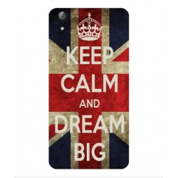 Coque Keep Calm And Dream Big Pour Huawei Y6II Compact