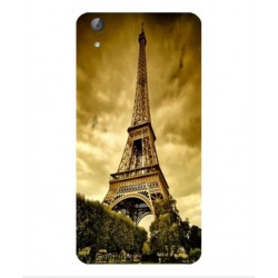 Coque Protection Tour Eiffel Pour Huawei Y6II Compact