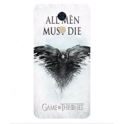 Funda All Men Must Die Para Huawei Y7 Prime