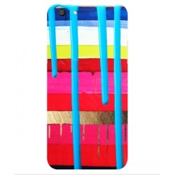 Oppo F3 Brushstrokes Cover