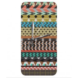 Coque Broderie Mexicaine Avec Horloge Pour Oppo F3