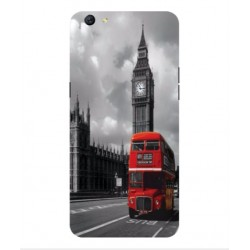 Oppo R9s London Style Cover