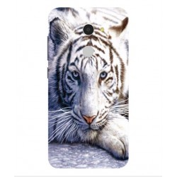 Coque Protection Tigre Blanc Pour Orange Dive 72