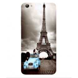 Vivo V5 Lite Vintage Eiffel Tower Case