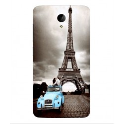 Vivo Y25 Vintage Eiffel Tower Case
