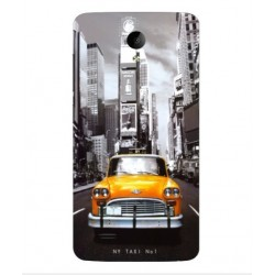 Vivo Y25 New York Taxi Cover