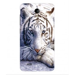 Vivo Y25 White Tiger Cover