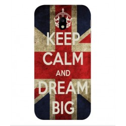 Coque Keep Calm And Dream Big Pour Samsung Galaxy J3 (2017)