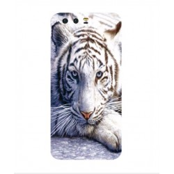 Coque Protection Tigre Blanc Pour Huawei Honor 9