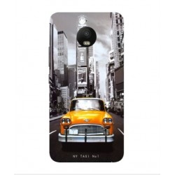 Motorola Moto E4 New York Taxi Cover