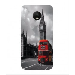 Motorola Moto E4 London Style Cover