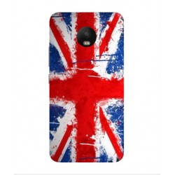 Motorola Moto E4 UK Brush Cover