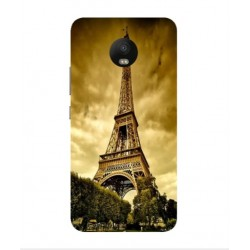 Motorola Moto E4 Eiffel Tower Case