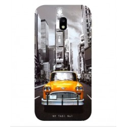 New York Taxi Custodia per Samsung Galaxy J7 Max