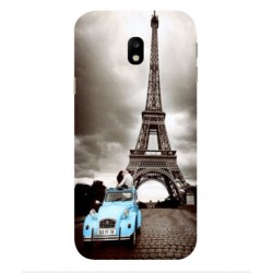 Samsung Galaxy J7 Max Vintage Eiffel Tower Case