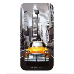 Coque New York Taxi Pour Vodafone Smart N8