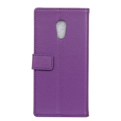 Meizu M3 Max Purple Wallet Case
