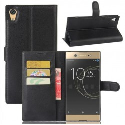 Sony Xperia XA1 Ultra Black Wallet Case