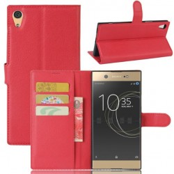 Sony Xperia XA1 Ultra Red Wallet Case