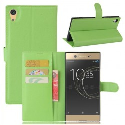Sony Xperia XA1 Ultra Green Wallet Case