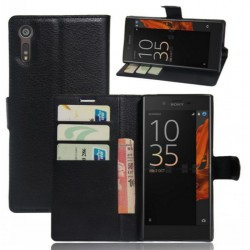 Sony Xperia XZ Black Wallet Case