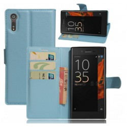 Sony Xperia XZ Blue Wallet Case