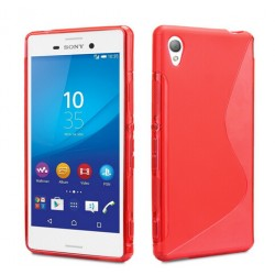 Red Silicone Protective Case Sony Xperia Z5