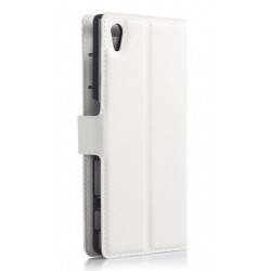 Sony Xperia Z5 White Wallet Case