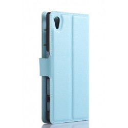 Sony Xperia Z5 Blue Wallet Case