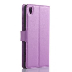 Sony Xperia Z5 Premium Purple Wallet Case