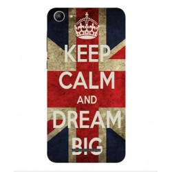 Wiko Lenny 3 Max (2017) Keep Calm And Dream Big Cover