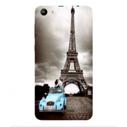 Wiko Lenny 3 Max (2017) Vintage Eiffel Tower Case