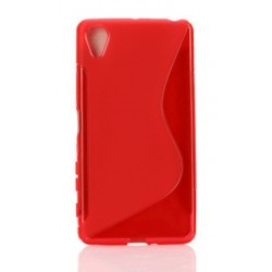 Red Silicone Protective Case Sony Xperia X